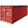 20' Open Top Container